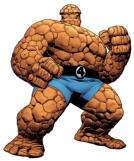 Fantastic Four The Thing Action figure